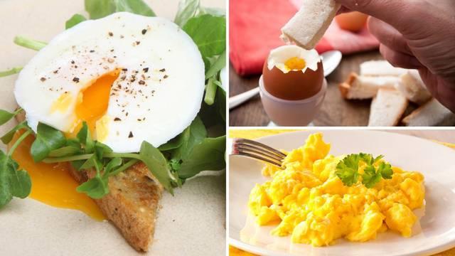 Jaja iz mikrovalne za doručak: Poširana, kuhana ili kajgana