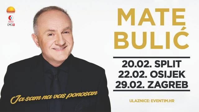 Mate Bulić otkriva goste na turneji: Zak, Šuput, Thompson