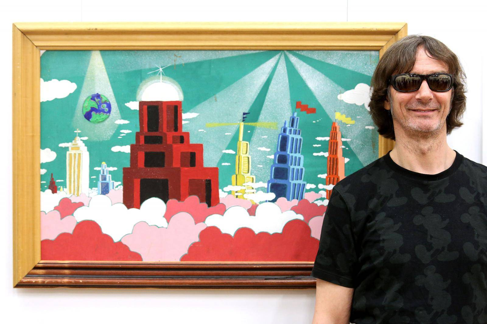 "Samobor: Davor Gobac otvorio izložbu slika ""Volim crtane filmove"""