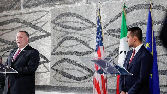 U.S. Secretary of State Pompeo visits Italy