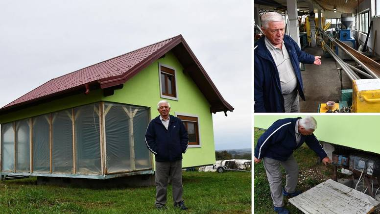 'Kuća mi je vrtuljak! Sagradio sam je za suprugu. Ima nekoliko lijepih pogleda, a svi se čude...'