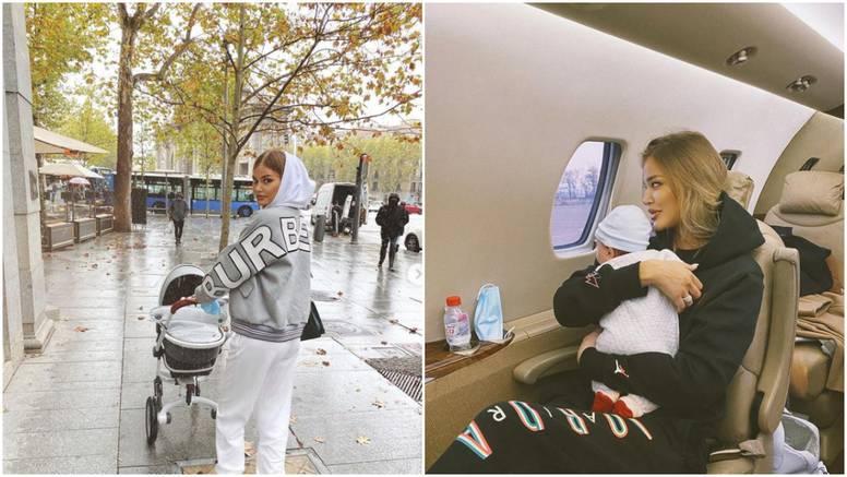 Sofija raznježila fanove novom fotkom: Najmlađi putnik na letu