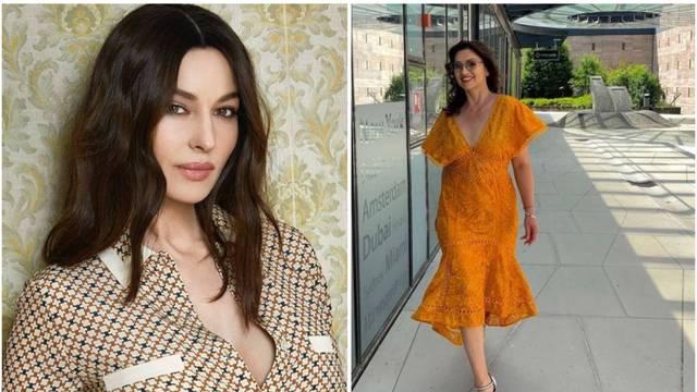 Nina pozirala u haljini dubokog izreza, pratitelji je usporedili s legendarnom Monicom Bellucci