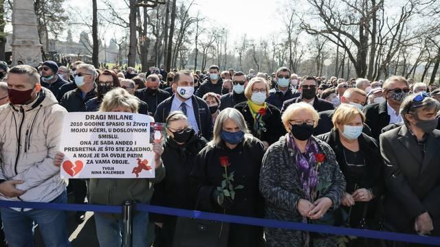 Ravnateljstvo civilne zaštite će se žaliti na presudu Holdingu i Gruji zbog Bandićeva pogreba