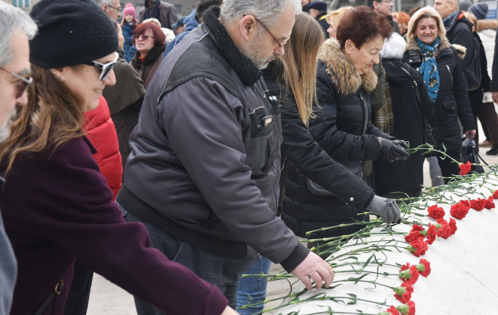 Zagreb: Skup Antifašističke lige RH u povodu Međunarodnog dana sjećanja na žrtve holokausta