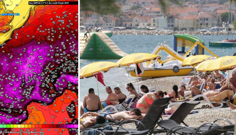 Toplinski val stiže u Hrvatsku: Najopasnije u četvrtak  i petak