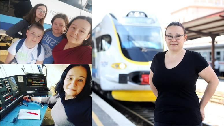 Lorena je prva strojovotkinja u Hrvatskim željeznicama: Volim voziti vlak, a nekad mu i tepam