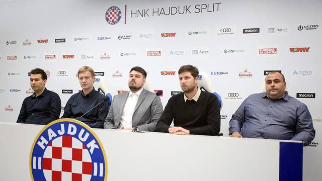 Split: Na konferenciji za medije objavljen rezultat drugog kruga izbora za Nadzorni odbor HNK Hajduk