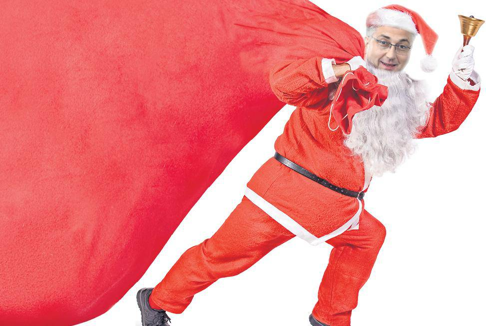 Široke ruke: Plenki Mraz nosi nam veće božićnice i nagrade