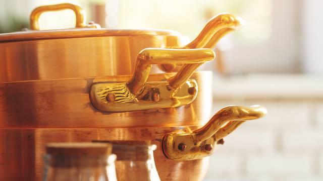 Za efikasno kuhanje: S bakrom se ne može uspoređivati ni jedan drugi materijal posuđa