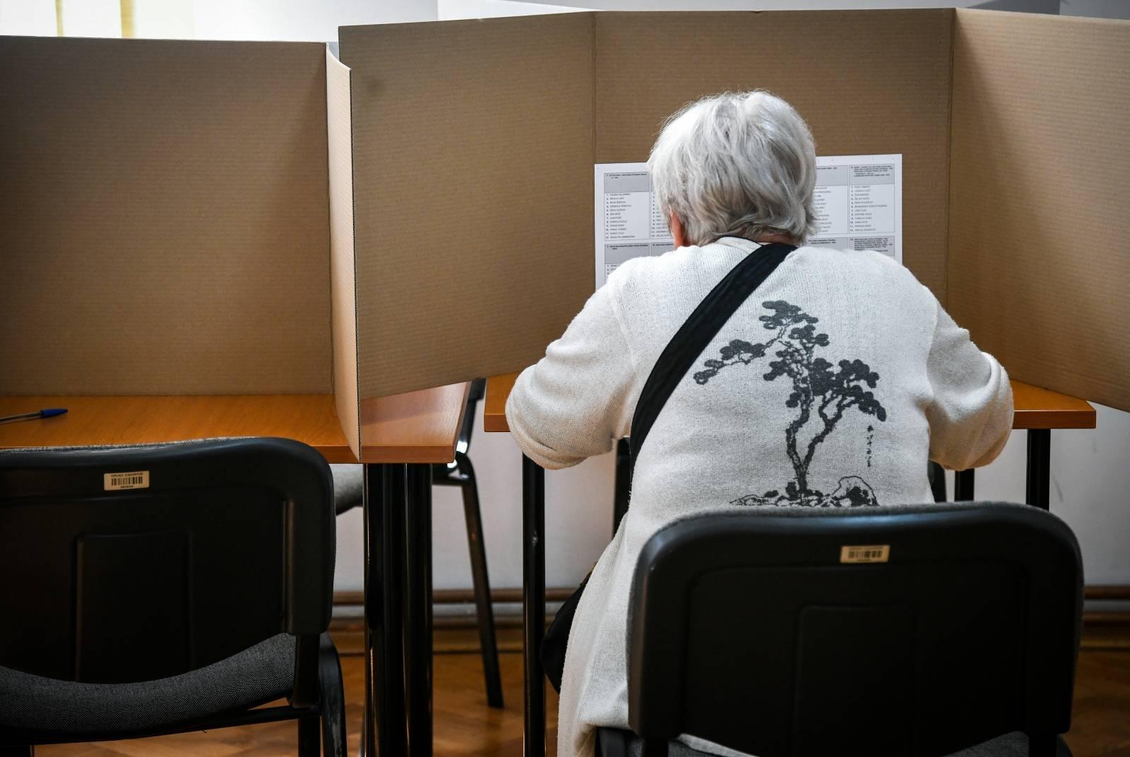 Ilustracija za glasovanje na izborima