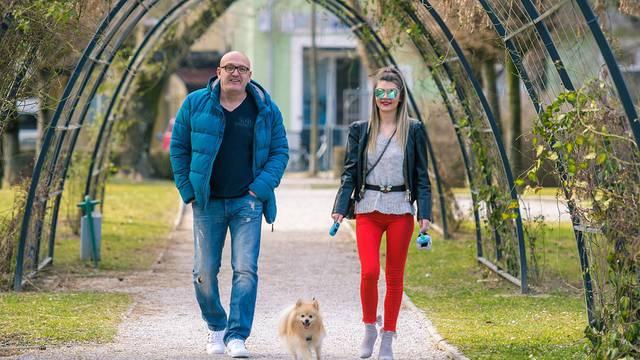 Saračević obožavao psića: Šetao je Foresta u slobodno vrijeme