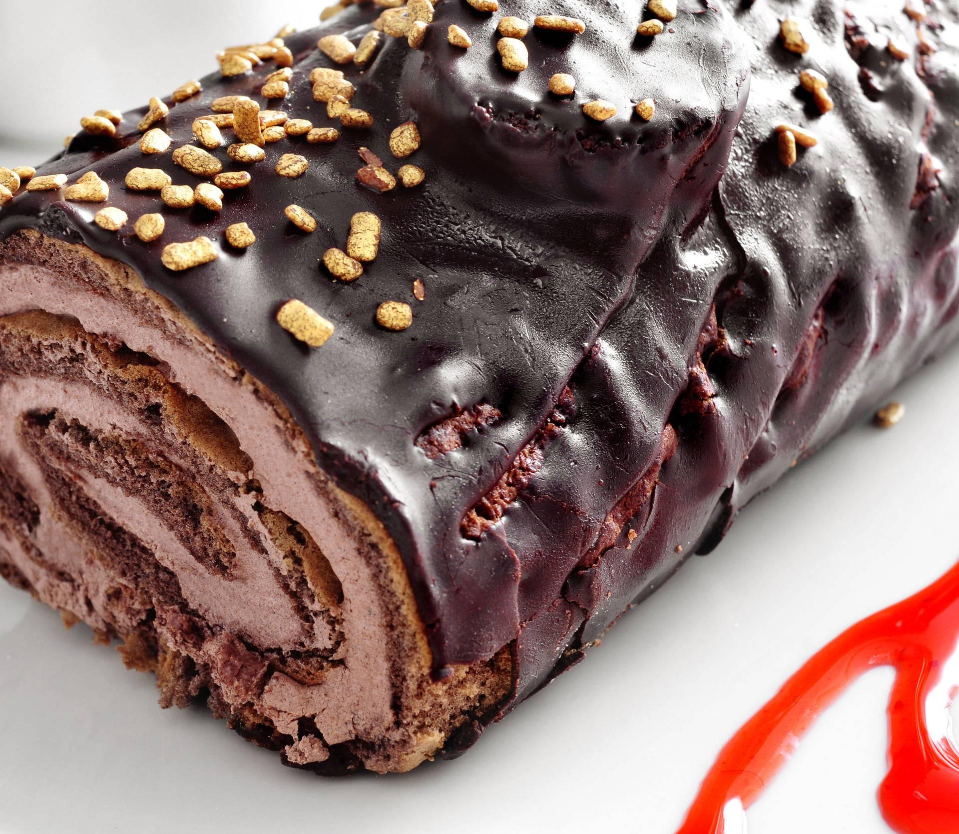 Božićni panj - čokoladni kralj blagdanskog stola koji fascinira