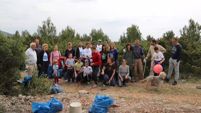 Akcija čišćenja 'Zelena čistka' u Parku prirode Vransko jezero
