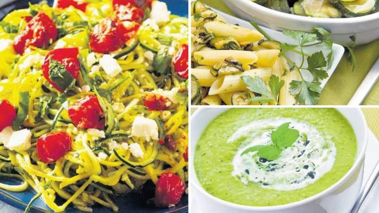 Tri odlična recepta s tikvicama: Rezanci od tikvica, umak i juha