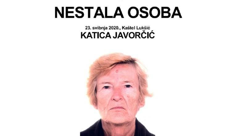 Katica (75) iz Kaštel Lukšića ima demenciju i nestala je