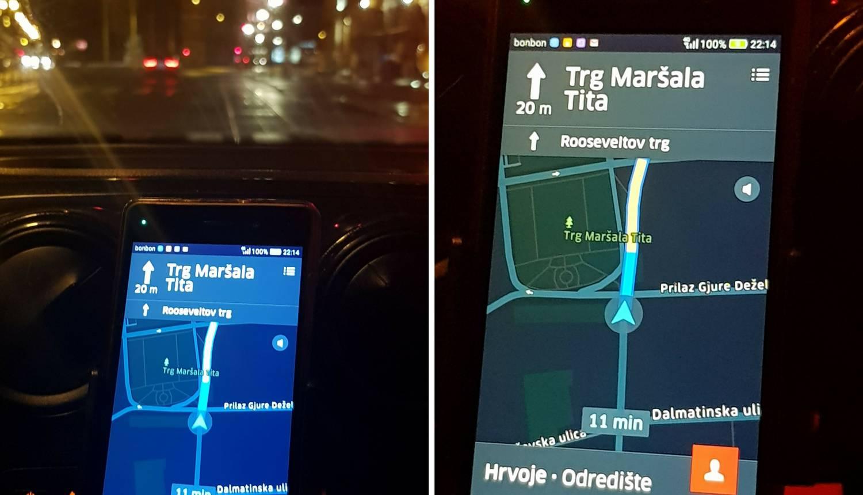 Tu je iako ga više nema: Uber i dalje vozi na Trg Maršala Tita