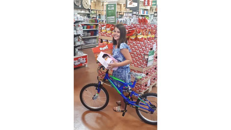 Djevojčica Dea (9) s Brača u Pevecu izabrala novi bicikl