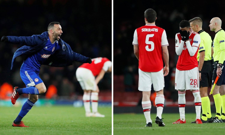 Olympiacos šokirao Emirates! Arsenal ispao iz Europske lige