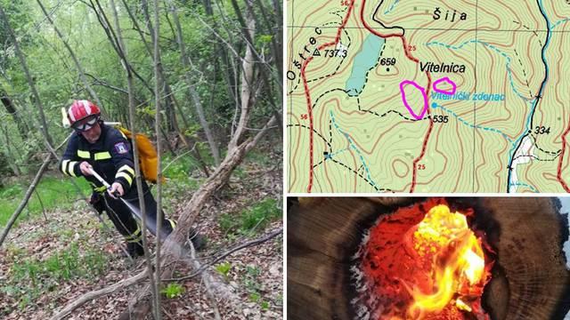 Kriv je piroman? Vatrogasci su gasili tri požara na Medvednici