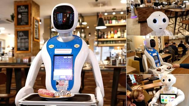 Budimpešta: U kafiću roboti donose kavu i zabavljaju goste