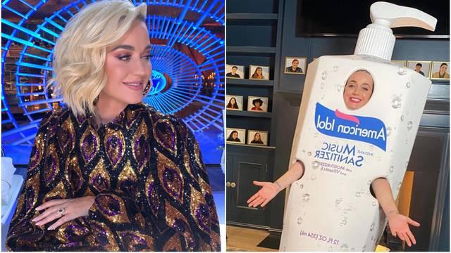 Katy šokirala outfitom: Postala sredstvo za dezinfekciju ruku...