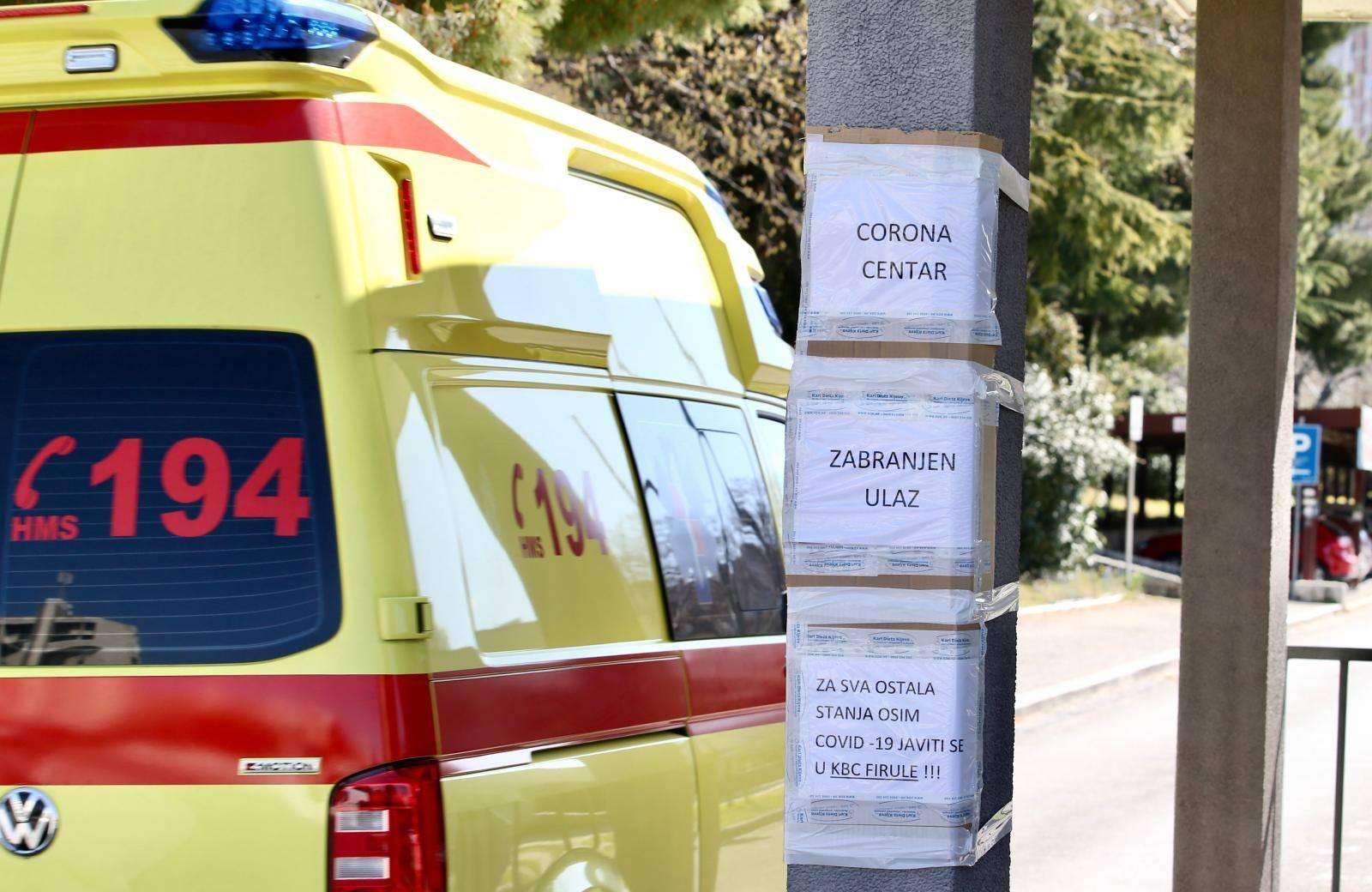 Zaraženu ženu vratili u Dom, nezaražena je ostala u bolnici
