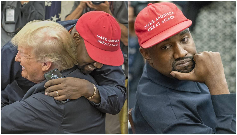 Kanye: 'Mene ne može nitko platiti. Bogatiji sam od Trumpa'