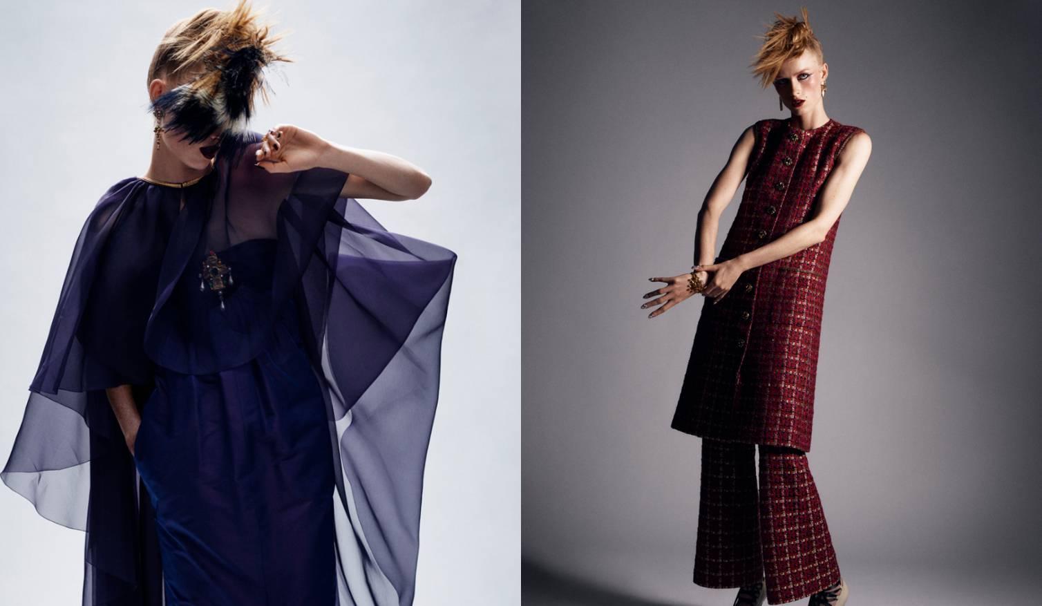 Chanel u novoj kolekciji Visoke mode kombinira luksuz i punk
