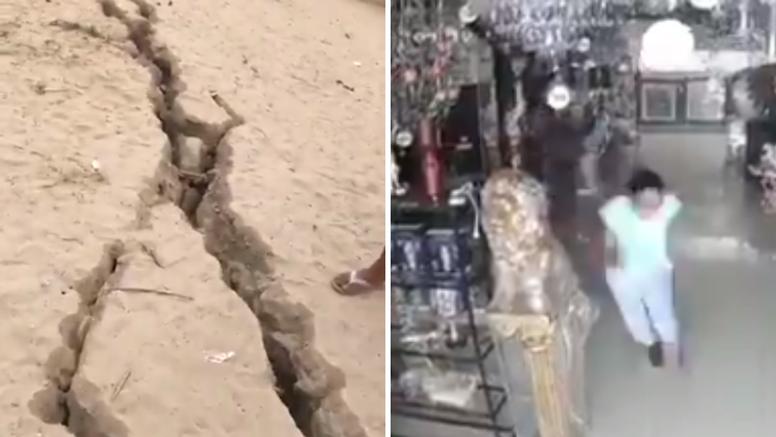 VIDEO Pogledajte trenutak snažnog potresa u Peruu u kojem je ozlijeđeno 40 ljudi