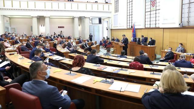 Prva sjednica Hrvatskoga sabora nastavljena predstavljanjem nove Vlade RH