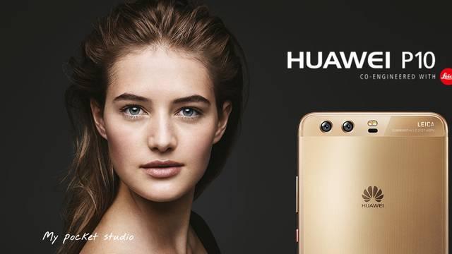 Umjetnički studio na dlanu s Huawei P10