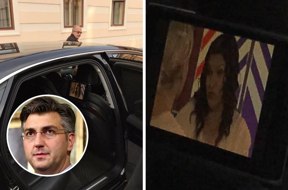 Dok se vozi na posao, premijer Plenković gleda  - 'Bibin svijet'