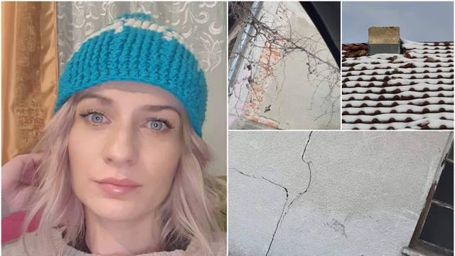 Sandri stradao stan u Petrinji, a nije dobila pomoć: 'Još čekam statičare, sve su puste priče...'