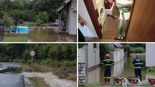 Velika šteta u Slavoniji: Ceste, auti, kuće, podrumi poplavljeni