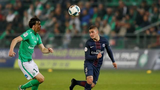 Saint-Etienne v Paris St Germain - Ligue 1
