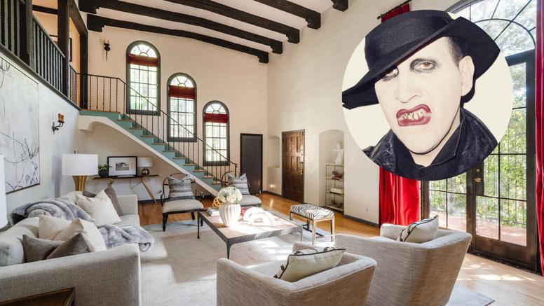 Nakon optužni za zlostavljanje, Marilyn Manson prodaje vilu u Los Angelesu za 11 milijuna kuna