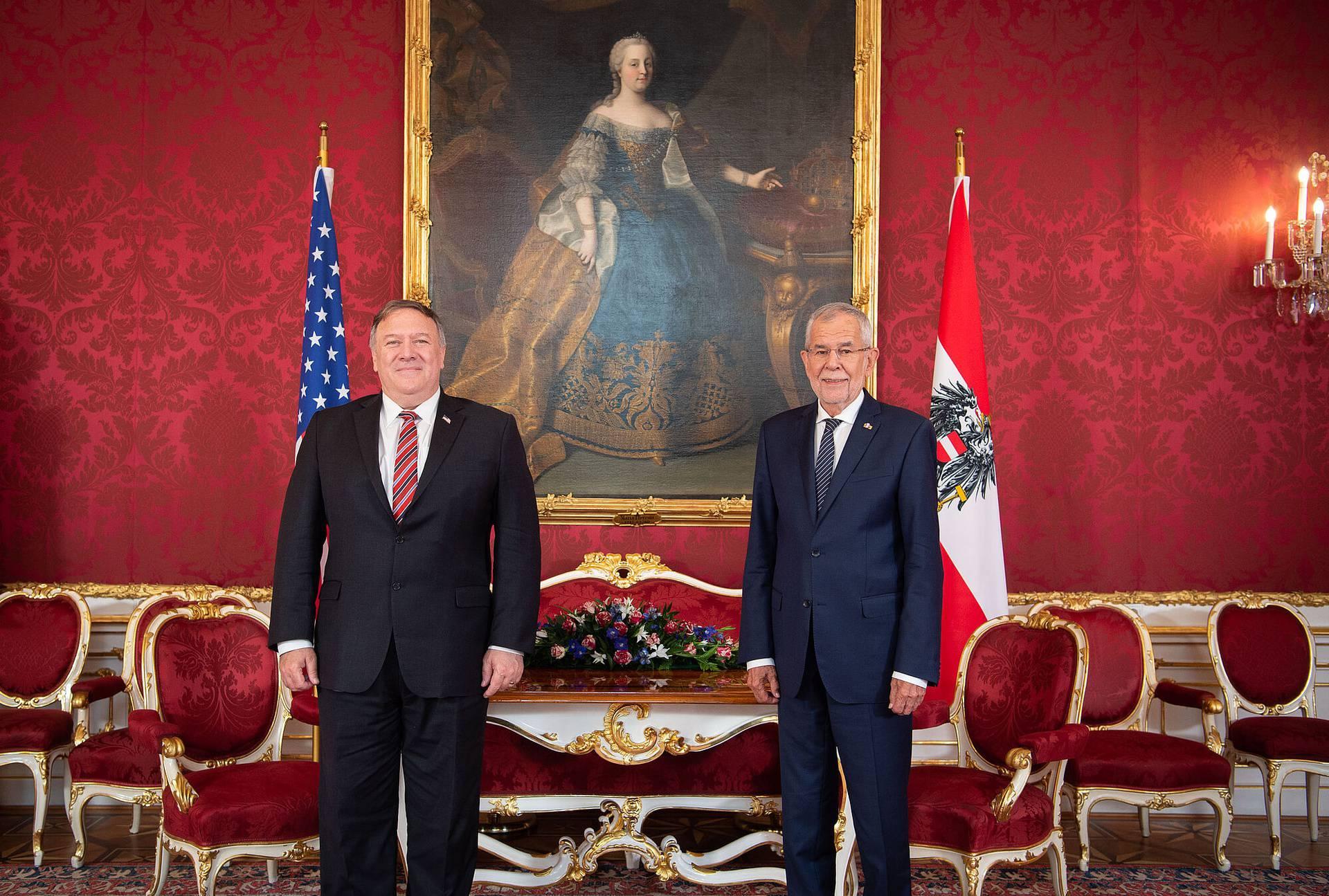 Pompeo u Austriji: Prozvao Kinu i lobirao protiv Rusije i Irana...