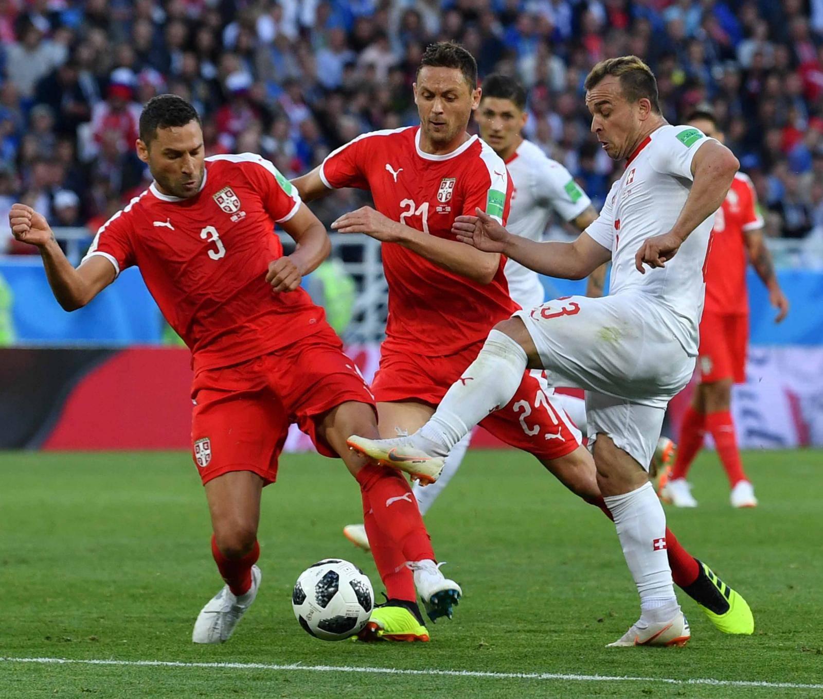 (SP)RUSSIA-KALININGRAD-2018 WORLD CUP-GROUP E-SWITZERLAND VS SERBIA