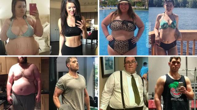 Drastično su smršavjeli: 10 top transformacija na Instagramu