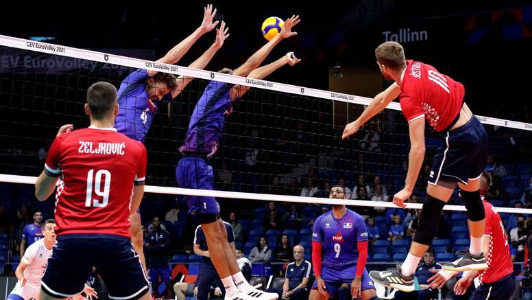 Hrvatska namirisala set protiv olimpijskih prvaka: Francuzi pljeskali Hrvatima na fair-playu