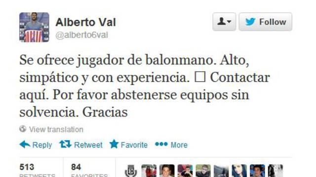 twitter/AlbertoVal