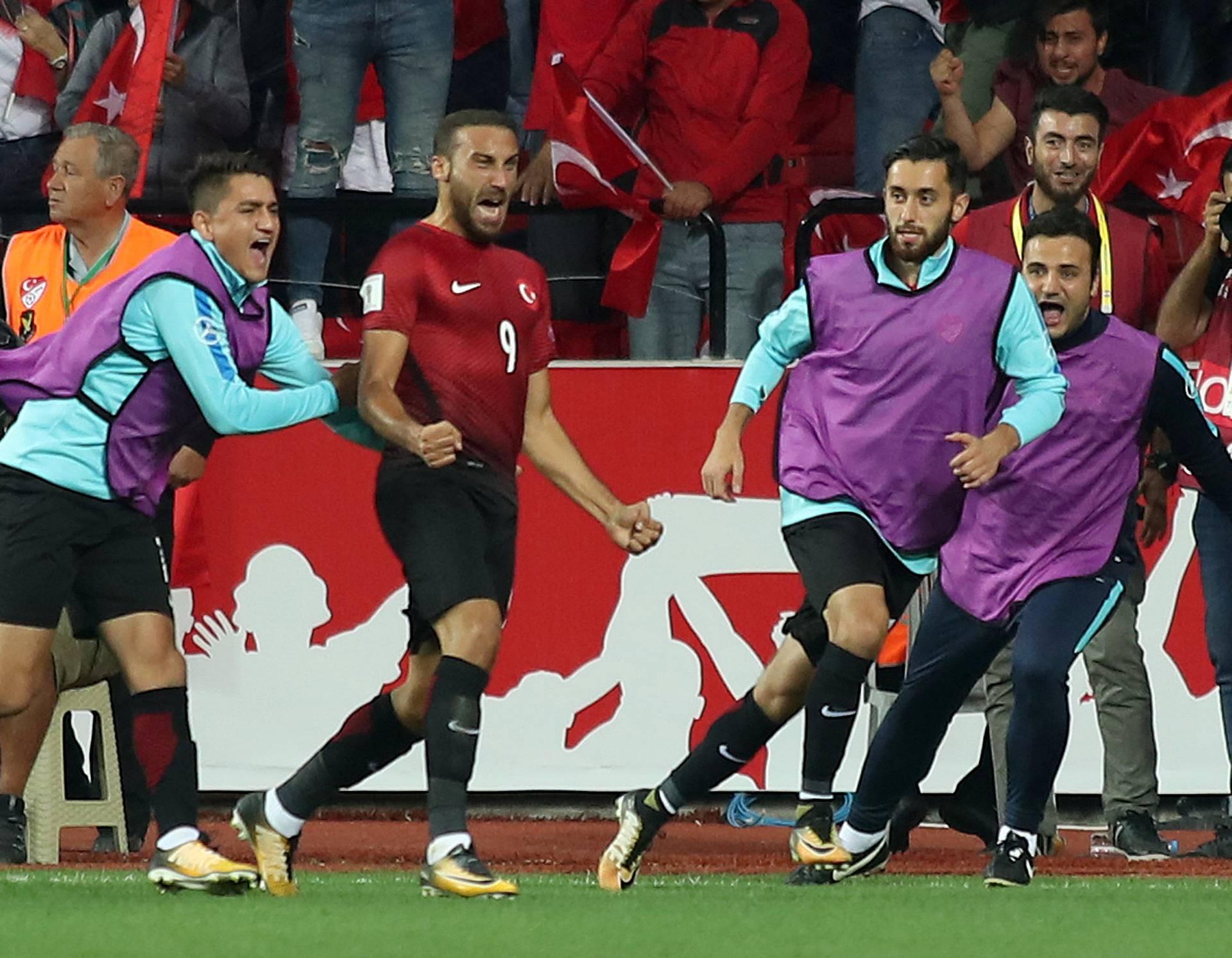 2018 World Cup Qualifications - Europe - Turkey vs Croatia