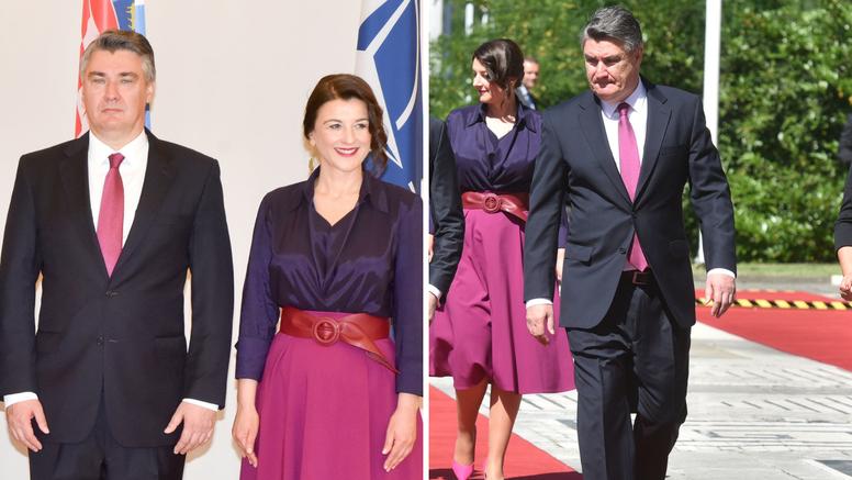 Zoki i Sanja se modno uskladili za doček gostiju iz Makedonije