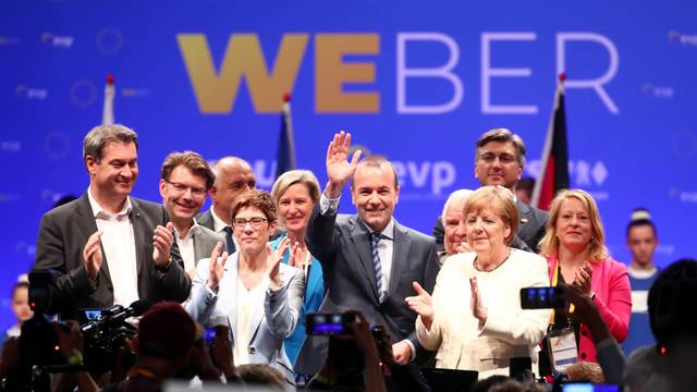 EPP final campaign event ahead of the EU election, in Munich
