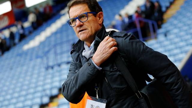 FILE PHOTO: Former England manager Fabio Capello at The King Power Stadium, Leicester, UK - 24/4/16
