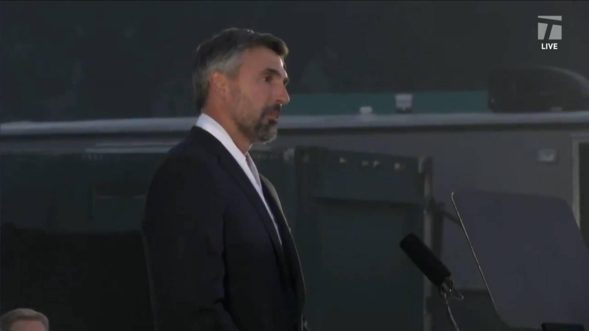 Goran primljen u Kuću slavnih! 'Hvala njemu koji sve ovo gleda odozgo. Jednom gradu i zemlji'