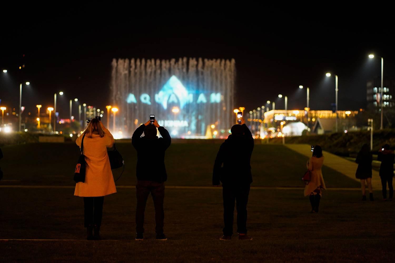 Kralj fontana: Znanim vodenim panoom zavladao je Aquaman