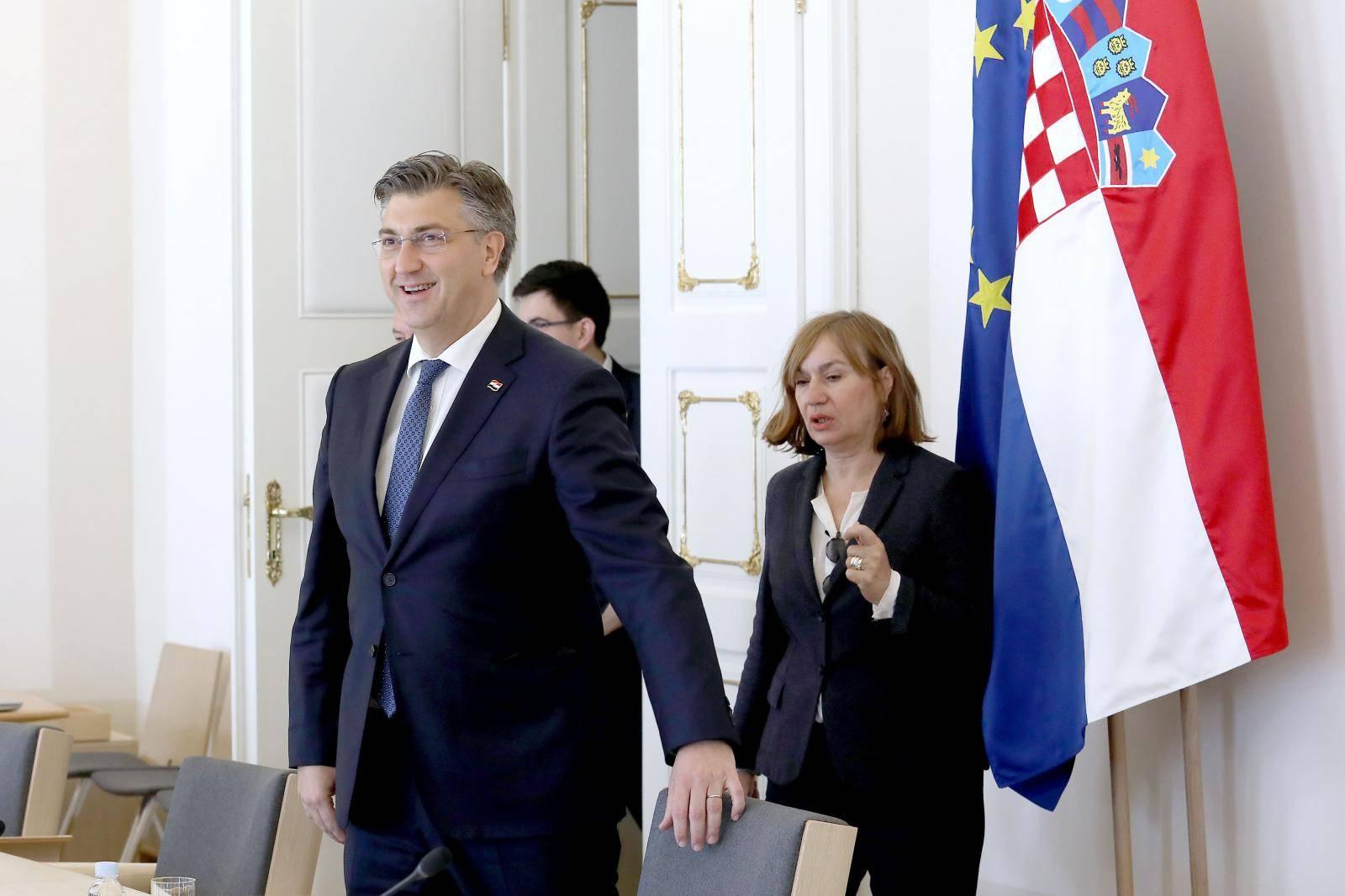 Zagreb: Andrej Plenković primio članove Viteškog alkarskog društva