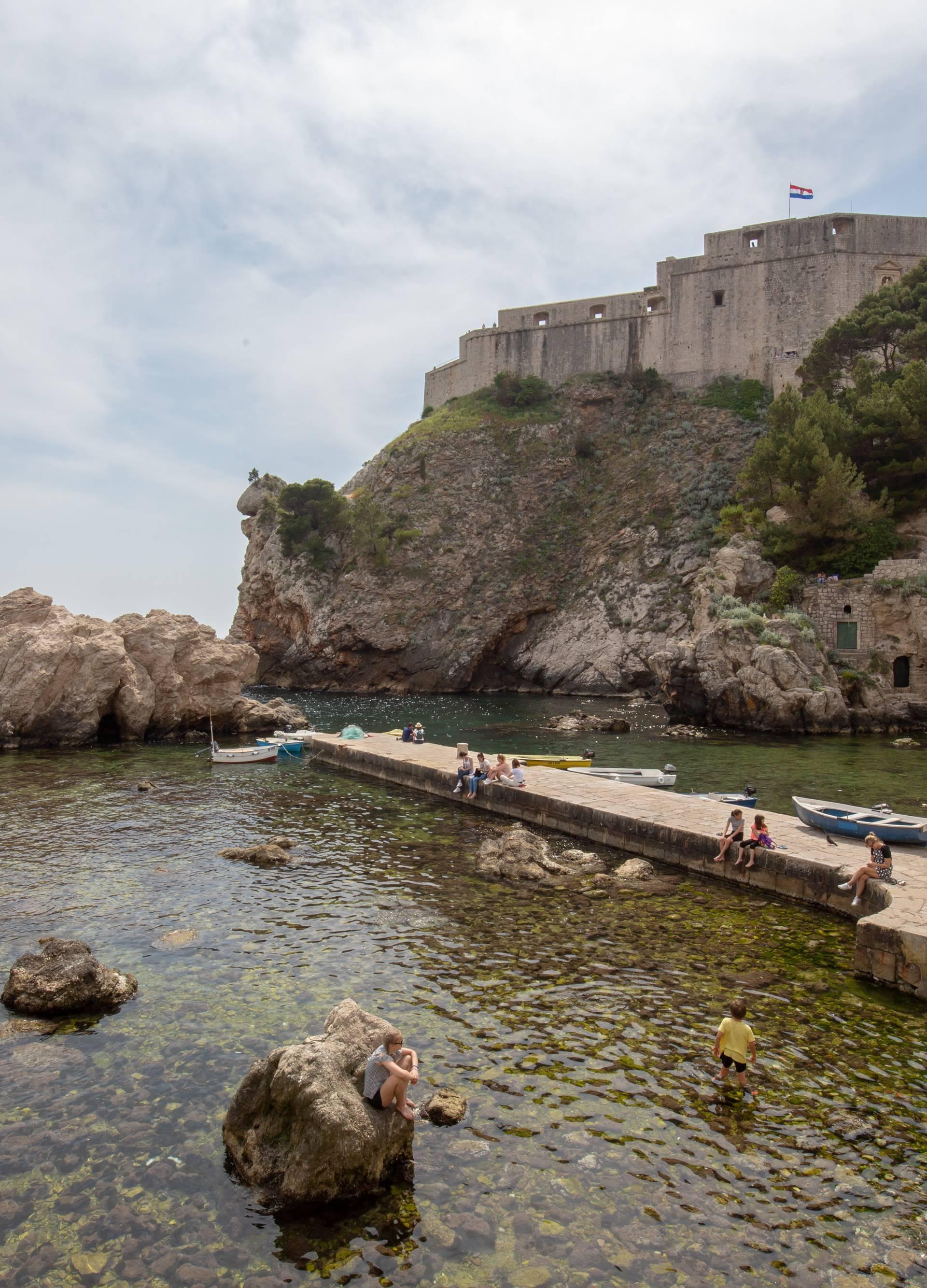More u Dubrovniku zagađeno fekalijama, ne kupajte se ovdje